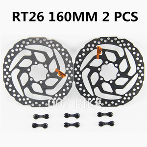 Image 5 - SHIMANO DEORE SM RT56 RT26 Brake Disc 6 Bolt Mountain Bikes Disc M610 RT56 M6000 Brake Disc 160MM 180MM MTB RT56 RT26 ROTOS