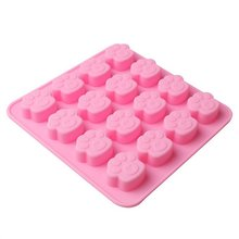 цена на Dog And Cat Paw Print Ice Cream Mold Diy Cake Mould Chocolate Candy Mold Baking Mold