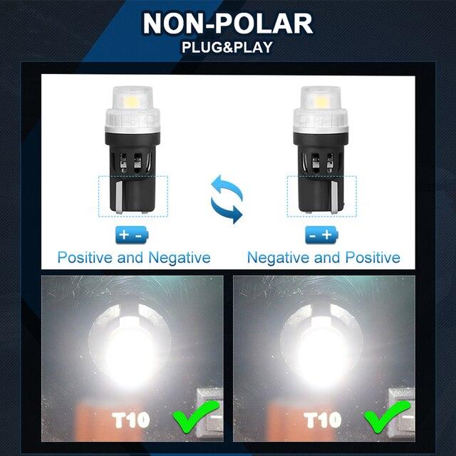 W16W T15 LED Bulbs Canbus Error Free High Power 921 912 LED Backup Light Reverse Parking Lamp White 12V car interior lighting