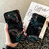 Hot Art  Banana Leaf Phone Case For iPhone 12 11 Pro Max XR XS Max 6S 7 8 Plus X SE 2020 Luxury Soft  Silicone Back Cover Cases 1