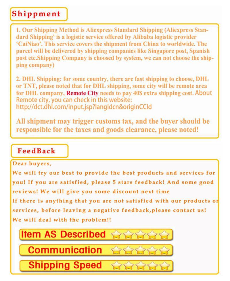shippment+feedback