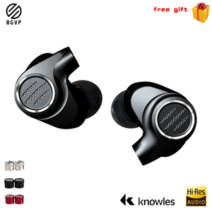 Image 1 - BGVP DMS 1DD+6 BA Hybird Drivers In Ear Monitor Headphones Dj Wired Hifi Stereo Mmcx High Fidelity Earphone Detachable Cable