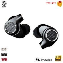 BGVP auriculares intrauditivos con Cable para Dj, auriculares con estéreo Hifi y Cable desmontable de alta fidelidad, controladores Hybird 1DD + 6 BA, DMS