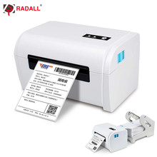 Radall Bluetooth Thermal Shipping Label Printer 4x6 Barcode Printer USB Label Maker for MAC Windows