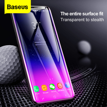 Baseus 3D משטח זכוכית מחוסמת עבור Samsung S9 S9 בתוספת מלא כיסוי מסך מגן עבור סמסונג גלקסי S9 S9Plus מגן סרט