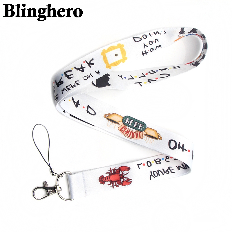 CA249 Friends TV Lanyard Neck Strap for key ID Card Cellphone Straps Badge Holder DIY Hanging Rope Neckband Accessories
