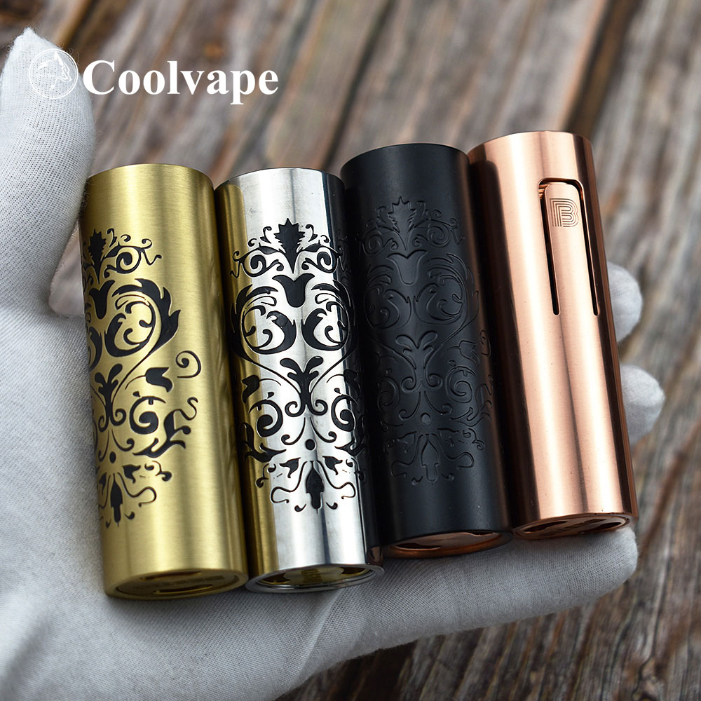 Coolvape Slam Piece Mod Bestia Mod 18650/20700/21700 Mod 27mm Diamater Side Fire Vape Copper Mechanical Mod Fit Qp Kali V2 Rda