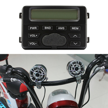 Speaker Motorcycle Sound System Handlebar Mount Waterproof Speakers Support External MP3 Player Dropshipping