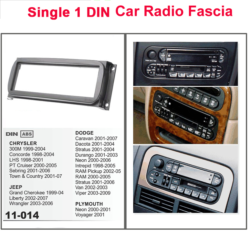 STEREO FACIA FASCIA Car Radio Fascia FOR Chrgsler Jeep Dodge Plymouth