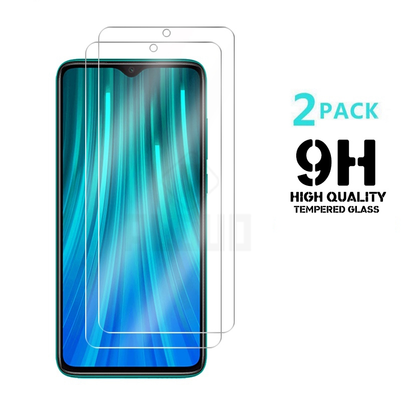 2PCS Protective Glass for Redmi Note 8T 7 8 9 s pro 8A 7A Tempered Glass Film Screen Protector for Xiaomi Redmi 9 A 9A 9s 9H HD(China)