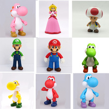 Super Mario Yoshi Anime Peripheral Doll Action Figure Model Decoration
