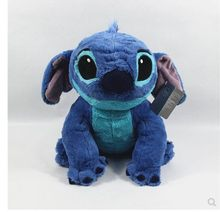 Free shipping new arrival 38cm Lilo & Stitch Plush toy For children baby Stuffed Toys gift(China)