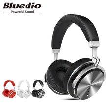 Bluedio T4S aktif gürültü iptal kablosuz Bluetooth kulaklık kablosuz kulaklık telefonlar için mikrofon ile