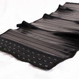 Image 5 - ラテックスウエストトレーナーコルセット腹シェイパースリムモデリングストラップ 25 鋼骨太ウエストニッパーfajas colombianasガードル