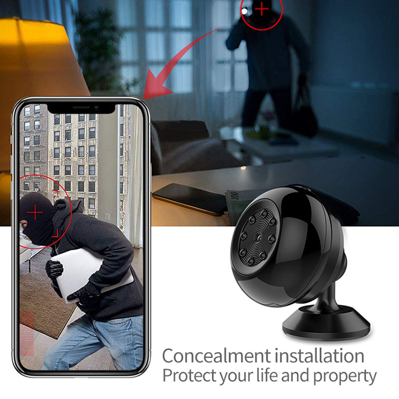 SQ17 Mini caméra IP Wifi HD 1080P caméscope vidéo 4K caméra Vision nocturne sans fil caméra magnétique Wifi Mini caméscope - 3