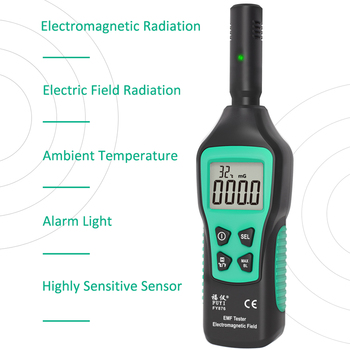 Handheld electromagnetic field rad