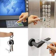 Бесконтактный латунный открывалка двери портативный Лифт кнопка