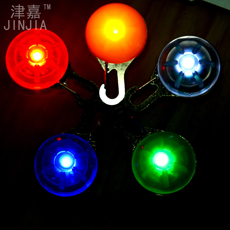 Tianjin Glowa Yuan-Shaped Light-emitting Pendant Pet Shining Dog Identification Flashlight LED Pet Light