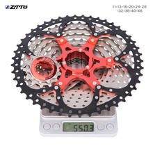 ZTTO 10 Speed freewheel 11-46T MTB Bike cassette velocidade For slx sunrace 10s k7 9