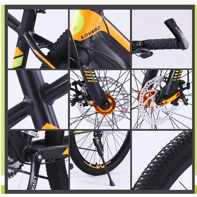 Wolf Fang Sepeda Gunung Sepeda Lemak Sepeda BMX 21 Kecepatan Aluminium Paduan 27.5 Inch Pria Wanita MTB sepeda BMX Gratis Pengiriman