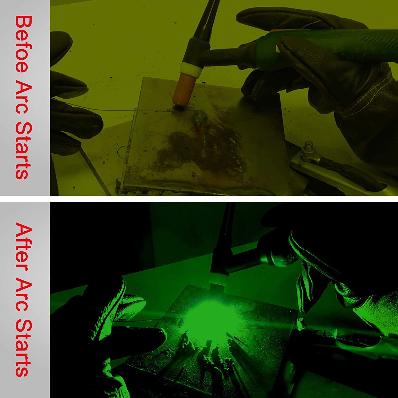 Energia Solar Auto Escurecimento Capacete de Soldagem com AntFi Smartlife X60 6 Ampla Faixa de Sombra - 4