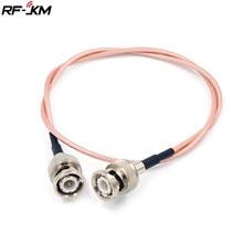 Rg316 50 ohm bnc macho para bnc macho adaptador de vídeo coaxial cabo coaxial para sdi câmera de segurança cctv dvr sistema/bmcc