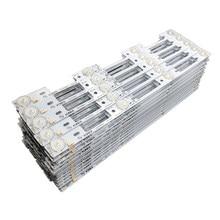100% nova barra de retroiluminação led para konka 39 polegadas tv kdl39ss662u 35018339 konka 40 polegadas kdl40ss662u 35019864 327mm 4 leds * 6 v