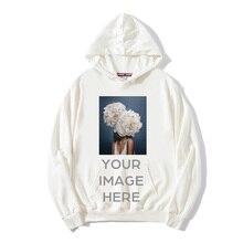 Sudaderas con capucha de manga larga para hombre y mujer, ropa de calle, informal, para primavera y otoño, con logotipo impreso personalizado
