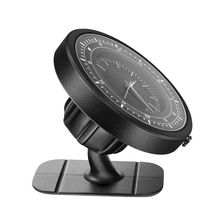Unique Timepiece GPS Navigation Car Phone Holder Magnetic Suction Dashboard/Air Vent Mount Bracket for iPhone iPad Smart Cellpho