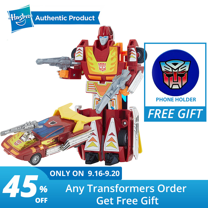 Hasbro Transformers Toys Vintage G1 Replica Autobot Hot Rod Action Figure Collection Model Dolls collection Autobot Hot Rod
