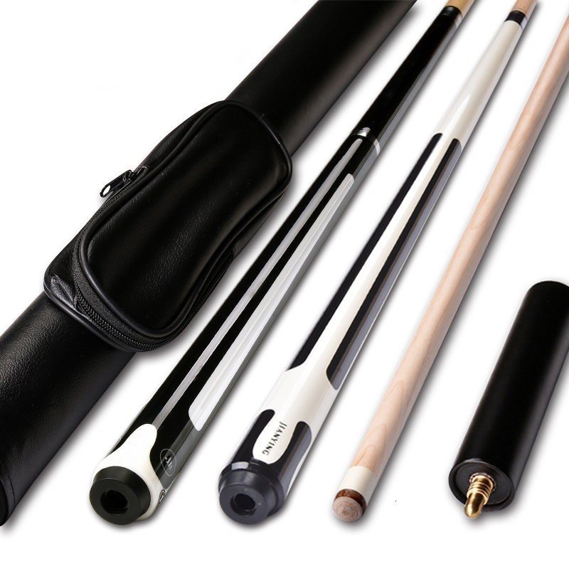 10/11.5/12.75mm 58 Inch Billiards Snooker Maple Pool Cue Stick With Cue Tip For Nine-ball Ball Come With Extension
