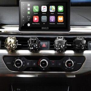 Image 1 - Bulldog mode voiture désodorisant parfum pince diffuseur de parfum évents automatiques parfum odeur désodorisant parfum intérieur accessoires