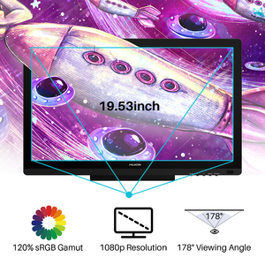 Image 5 - Huion Kamvas 20 19.53inch AG Glass Pen Display Monitor Professional Art Digital Graphics Drawing Pen Tablet Monitor 8192 Levels