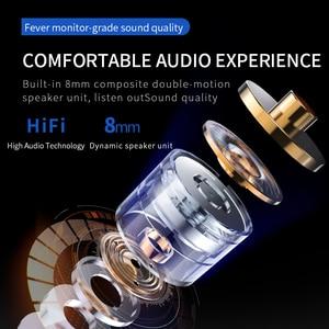 Image 3 - Auricolari cablati D8 In ear con microfono vivavoce a cancellazione di rumore cuffie impermeabili IPX4 TWS cuffie innestabili per auricolari I12 tws