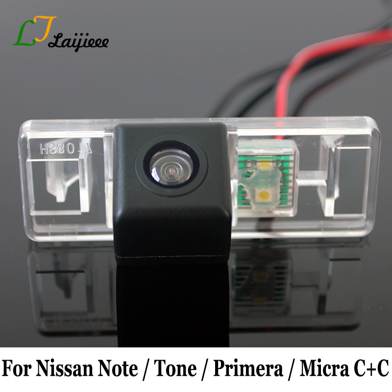 Car Rearview Camera For Nissan Note Tone E11 Primera P12 Micra C+C K12 / HD CCD Night Vision Auto Backup Reversing Camera