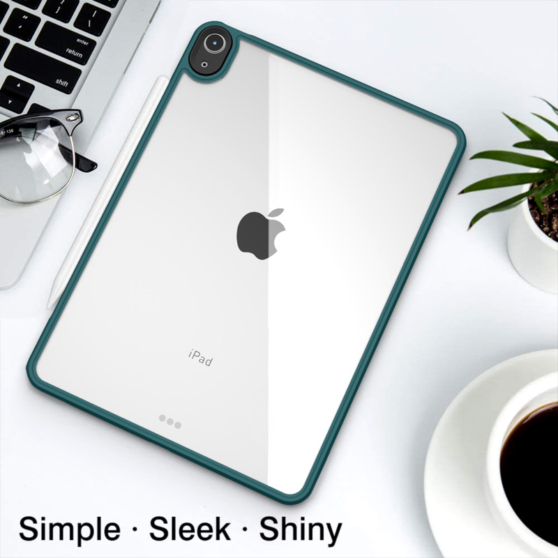 Hybrid Case TPU Protective iPad Ultra Tablet Shockproof Thin Bumper + Case Air For 4 PC