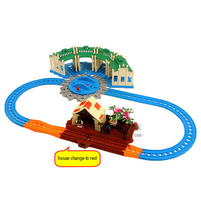 Universal Trains Tracks For Magnetic Connector Trains Compatible With Brio Brand Tracks Railway Locomotives Toys For Children