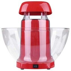 Popcorn Maker Household Mini Automatic Popcorn Machine DIY Corn Machine for Popcorn Kitchen Tools UK Plug