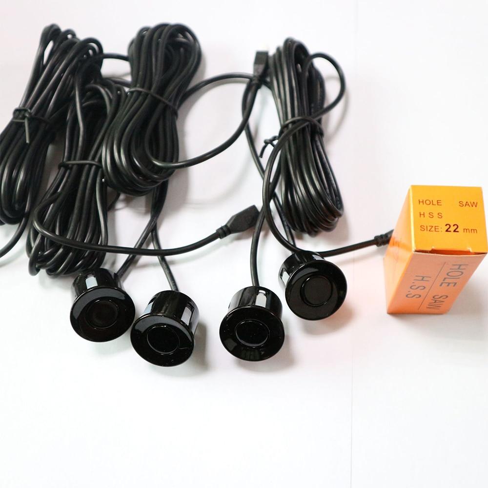 DC12V Auto Parkplatz Sensor Ton Alarm BIBI Ton Alarm Anzeige Sonde Umge Back Up Monitor Radar Detektor System Kit