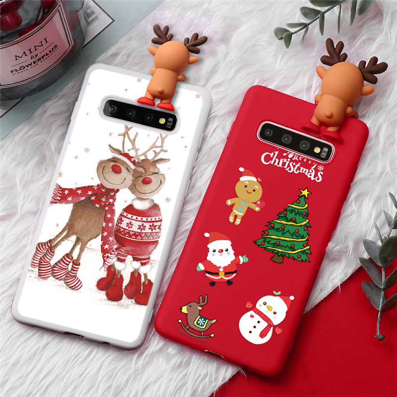 Christmas New Year Gifts 3D TPU Samsung Galaxy Cover