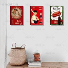 Cola Metal Sign Bar Wall Decoration Tin Sign Vintage Metal Poster Home Decor Painting Plaques Art Poste 1001(654) [ kelly66 ] pet life is better with a dog samoyed husky pug tin metal sign home decor bar wall art painting 20 30 cm size dy116