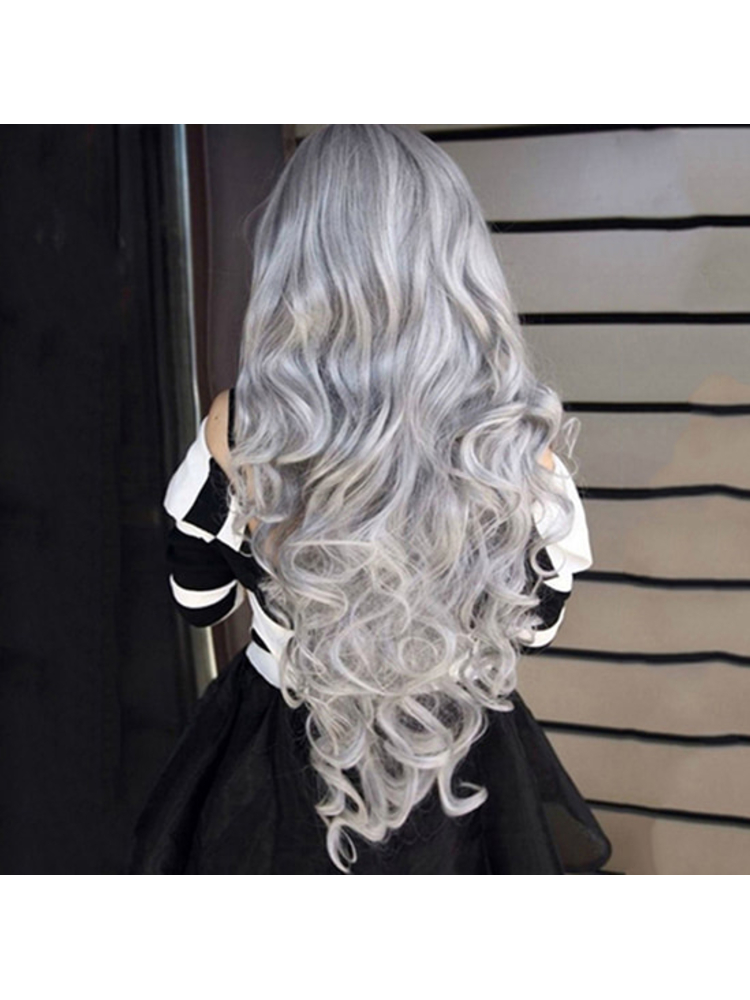 Fashion Men Women 100ml Permanent Light Gray Color Granny Hair Dye Cream Please Read The Instructions Before Using So That You