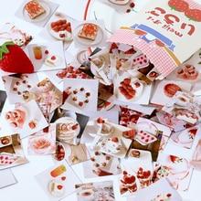 46 шт./пакет вкусный клубничный декоративные наклейки скрапбукинга Дневник альбом палки этикетка канцелярские наклейки детские подарки Каваи