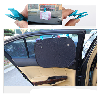 Car interior window suction cup clip sunshade bill home multi-function for BMW series E38 E65 E66 F01 F02 4 F32 F33 F36 F82 M4 image