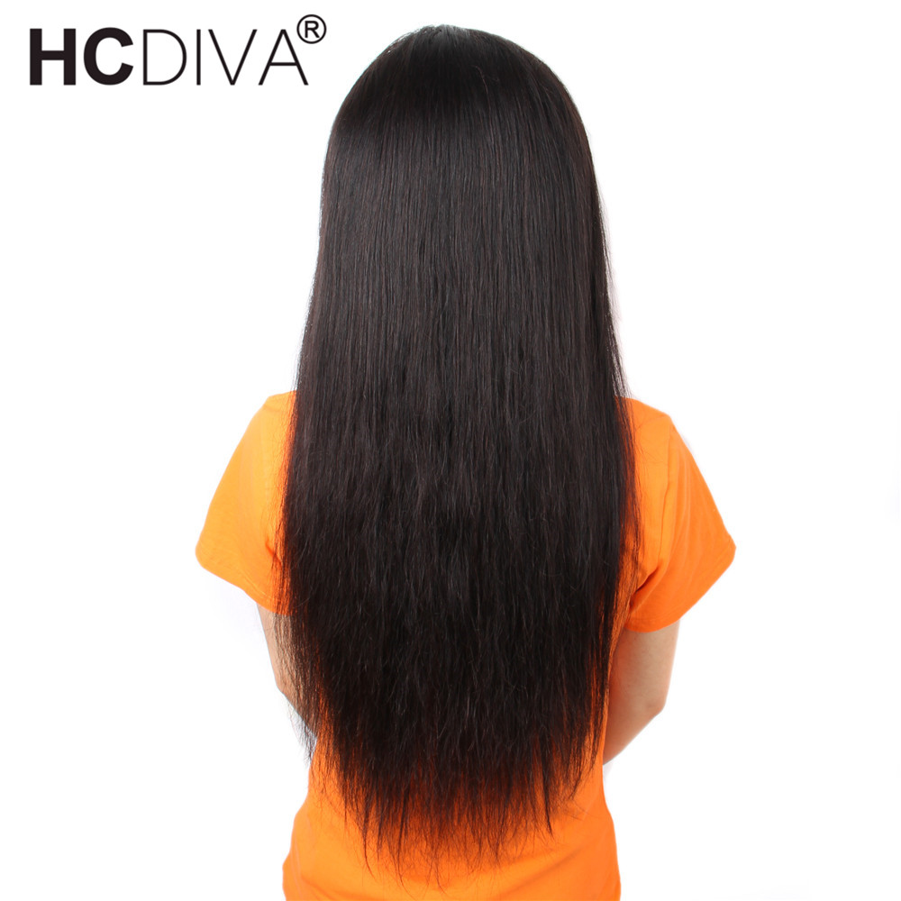 Image 3 - 360 Lace Frontal Wig Pre Plucked With Baby Hair Brazilian Straight Lace Frontal Human Hair Wig Remy Lace Wig For Black Women-in Human Hair Lace Wigs from Hair Extensions & Wigs