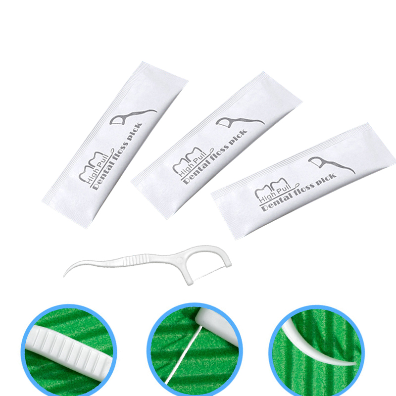 50pcs Dental Floss Flosser Picks Teeth Toothpicks Stick Tooth Clean Oral Care Dentistry Gifts Dentist Products Customizable Logo