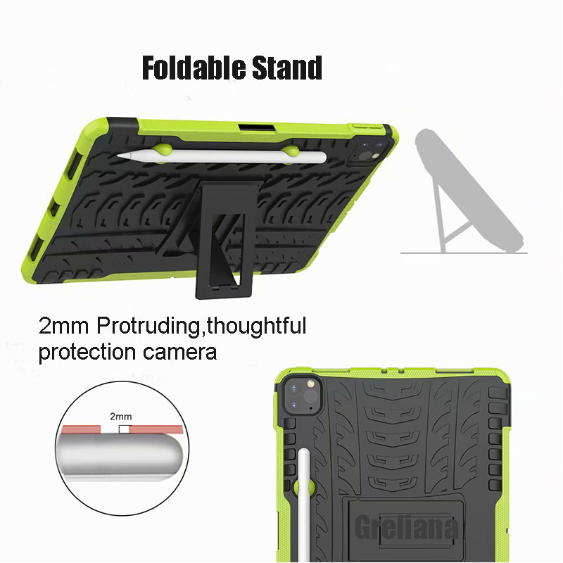 Armor 11 Pro Holder iPad Flip Pencil Case 2020 With Cover Stand New Case Shockproof For