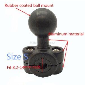 Image 5 - Jadkinsta Motorrad Lenker Bremse Kupplung Control Basis Combo U Bolt Berg mit 1 zoll Gummi Ball Halterung für Gopro Cam