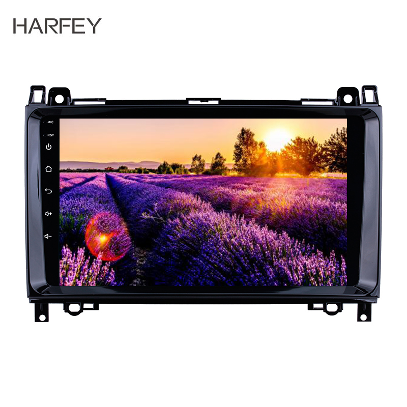 Harfey 2Din <font><b>GPS</b></font> Car Multimedia Player Android 8.1 Navi Autoradio For <font><b>Mercedes</b></font> Benz B W245 B150 B160 B170 <font><b>B180</b></font> B200 B55 2004-2012 image