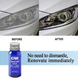 Полировка фар Анти Царапины все новые фар автомобиля жидкость для ремонта и Анти Царапины техническое обслуживание набор жидкостей 30 мл Очищающее Средство для линз| |   | АлиЭкспресс